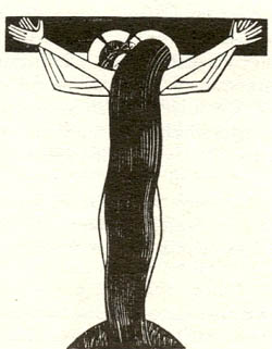 Eric Gill Neptuals of God