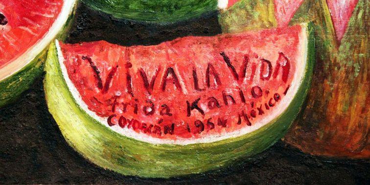 frida kahlo viva la vida