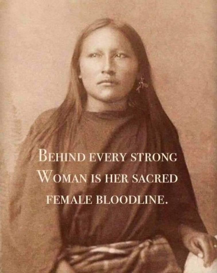 strong woman female bloodline